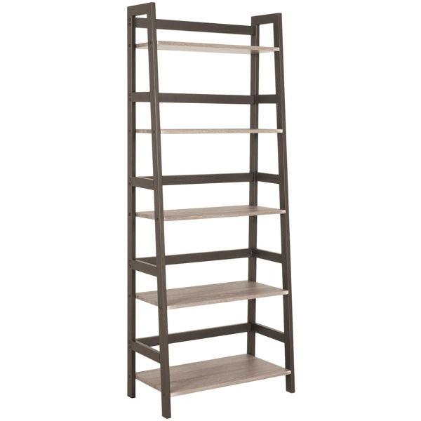Picture of Clarke Five-Shelf Bookcase