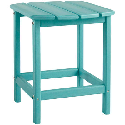 Picture of End Table Turquoise