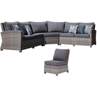 Picture of Salem Beach 4 Piece Sectional