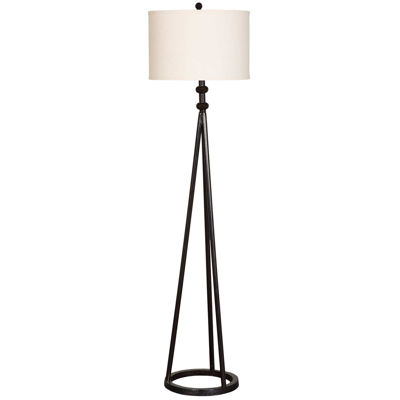 Picture of Black Iron Floor Lamp