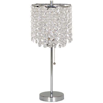 Picture of Chrome Acrylic Droplet Table Lamp