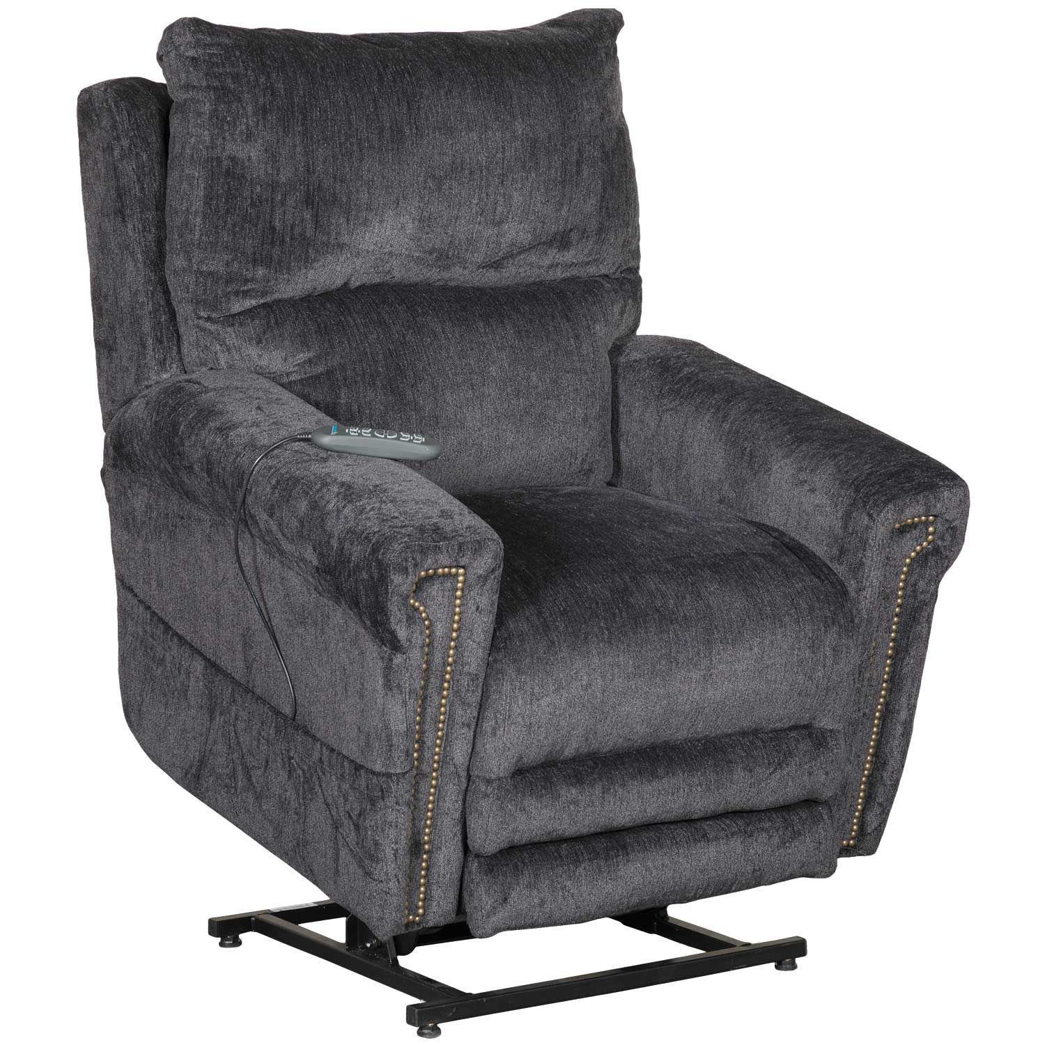 Warner Power Lift Chair With Adjustable Headrest And Lumbar 764862 Jackson Furniture