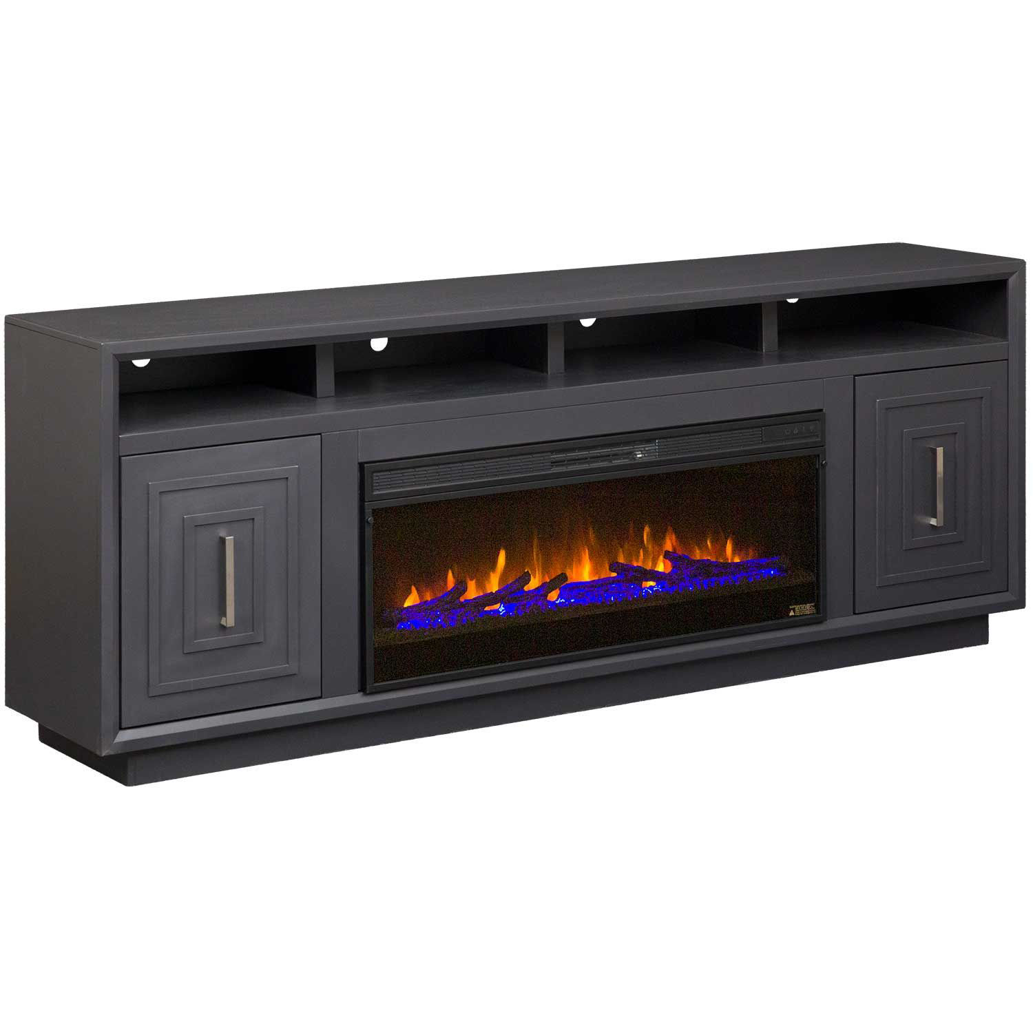"Picture of Sunset 83"" Fireplace Console"