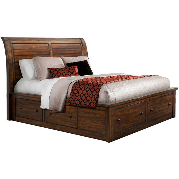 Picture of Dawson Creek Queen Storage Bed