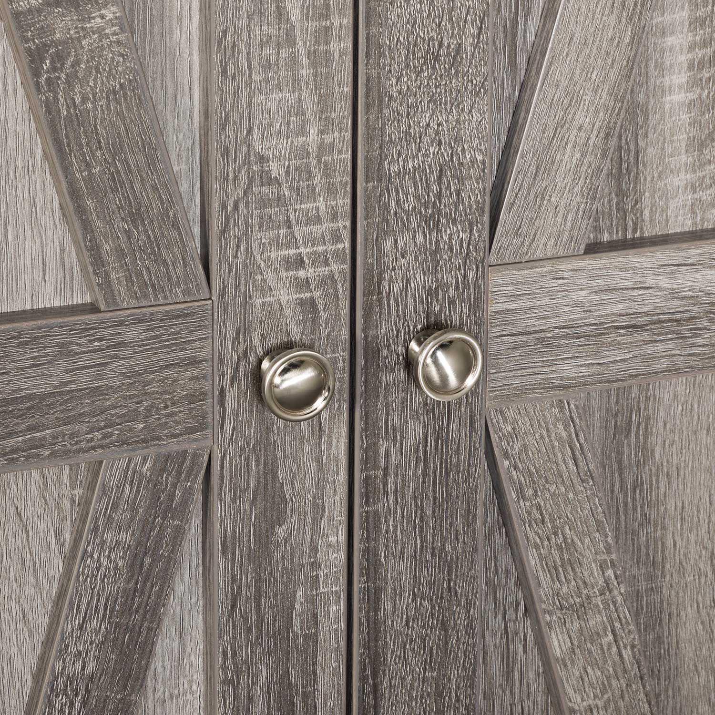 Picture of Two Door Dgrey Wardrobe