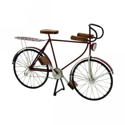 Picture of Bicycle Metal Wood Sculpt 21x1