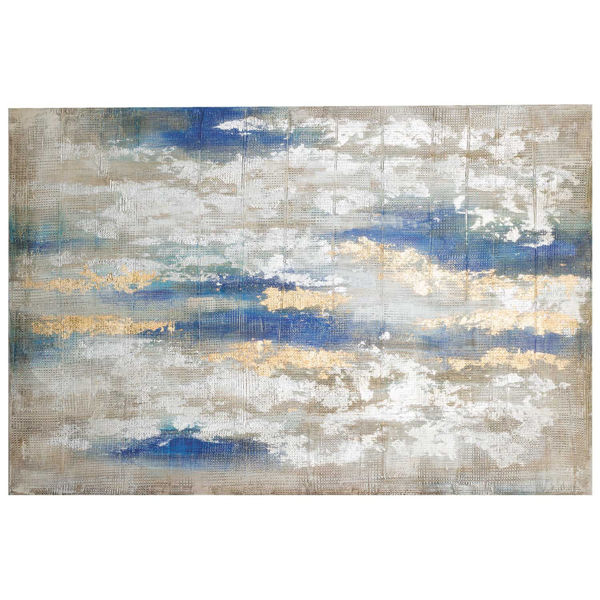 Picture of Blue Gold Abstract
