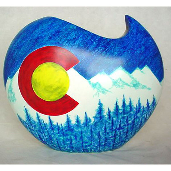 Picture of Colorado Proud Vase