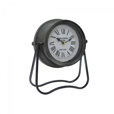 Picture of Galvanized Table Clock