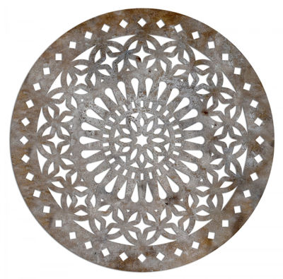 Picture of Medallion Metal Wall Decor