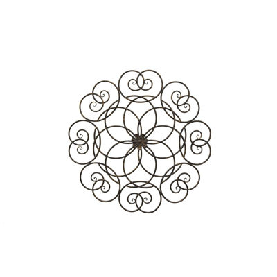 Picture of Round Metal Scroll Wall Decor