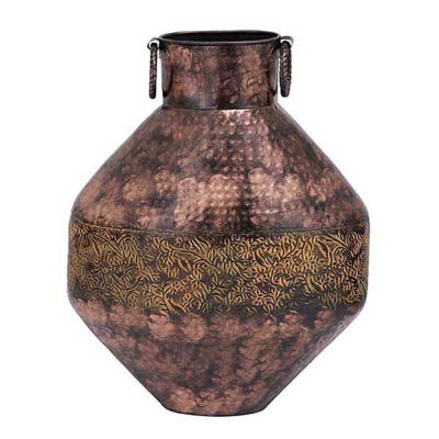 Picture of Rustic Metal Vase 20 In Ht Cop