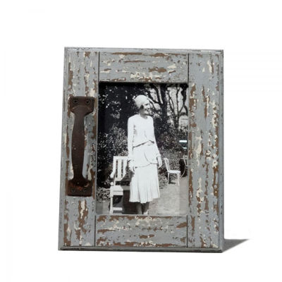 Picture of Rustic Wood Frame W/Handle