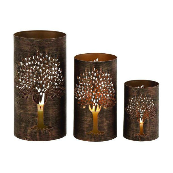 Picture of Set 3 Metal Tree Hurricanes