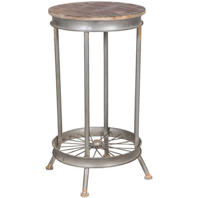 Picture of Wheel Spoke Accent Table