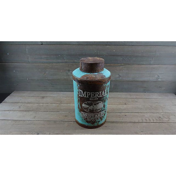 Picture of Blue Metal Can