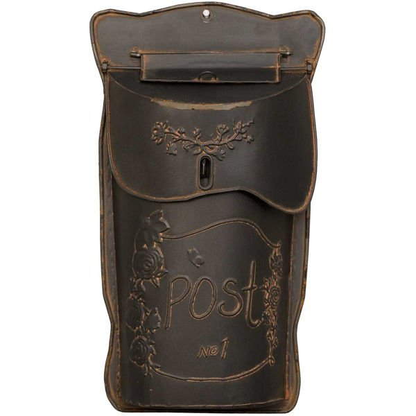 Picture of Vintage Rust Mailbox