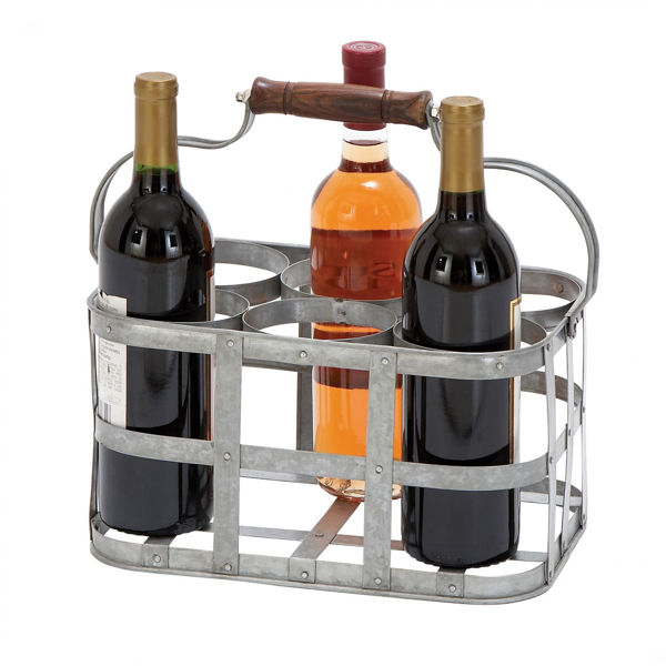 Picture of Metal Wine Holder