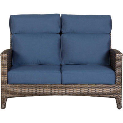 Picture of Grand Palm Loveseat with Cushions