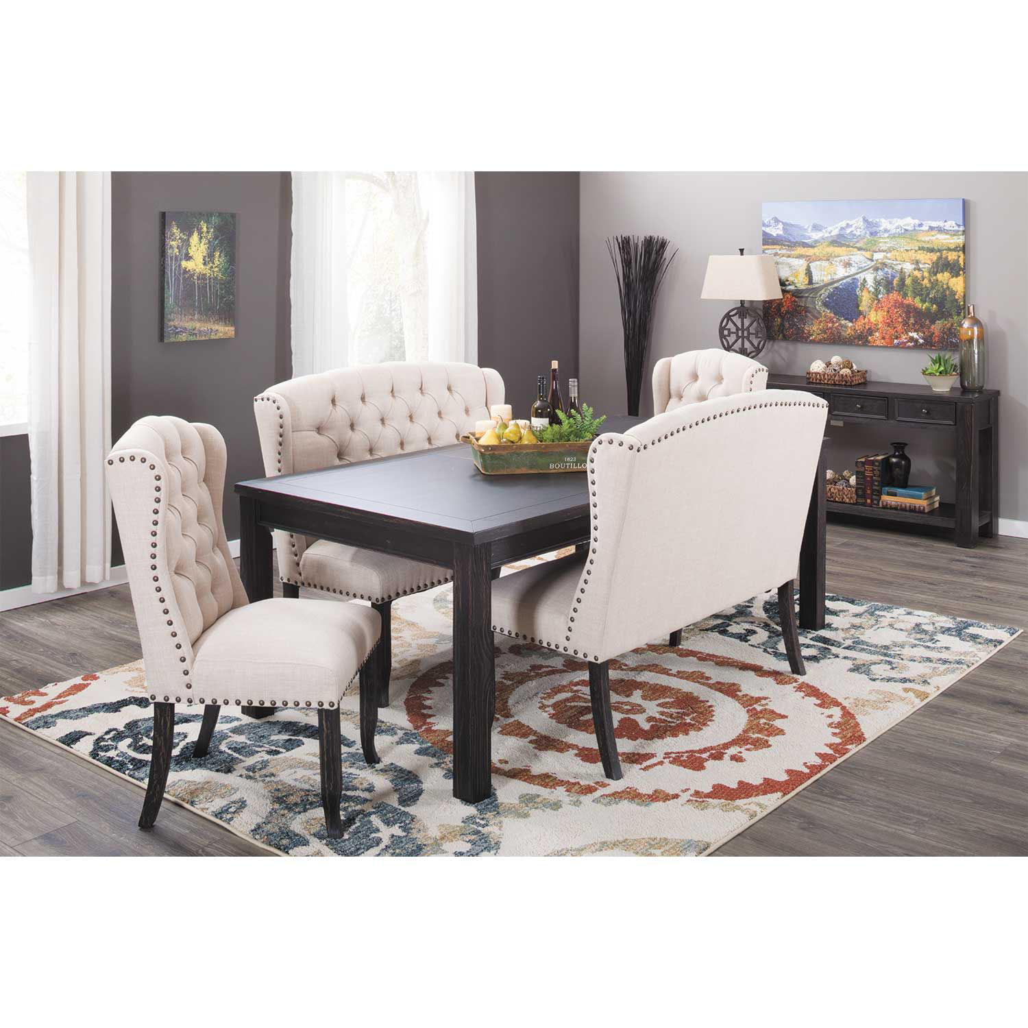 Picture of Ivie Upholstered Dining Bench