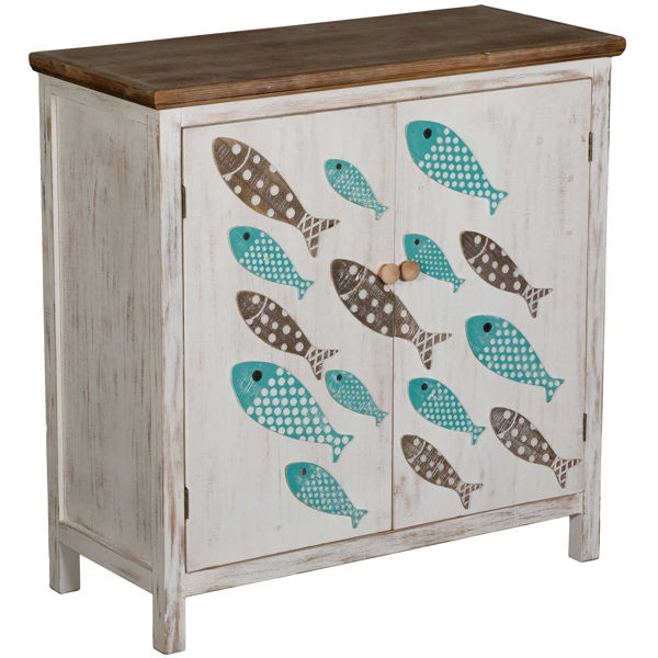 Picture of Ocean Wood Cabinet