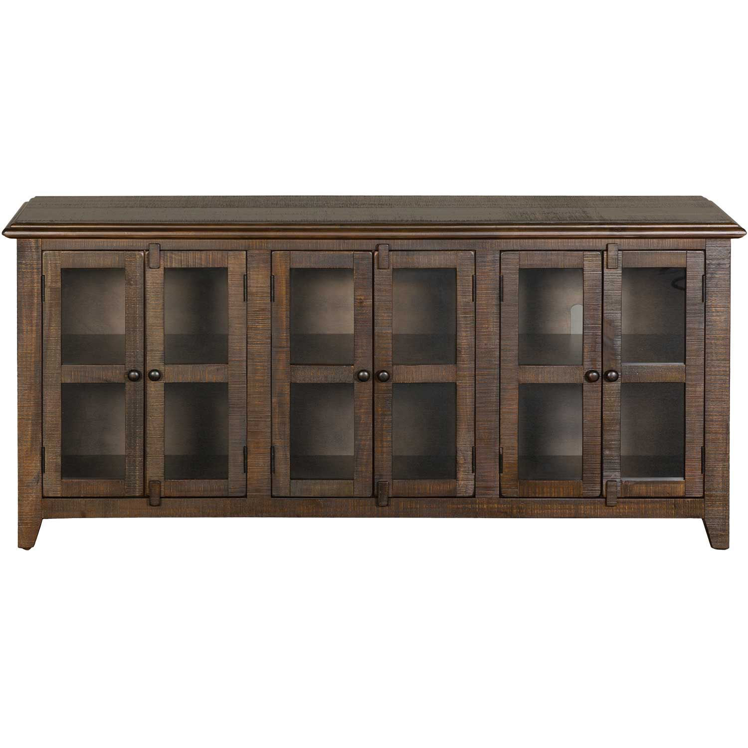 "Picture of Tobacco Leaf 70"" TV Stand"