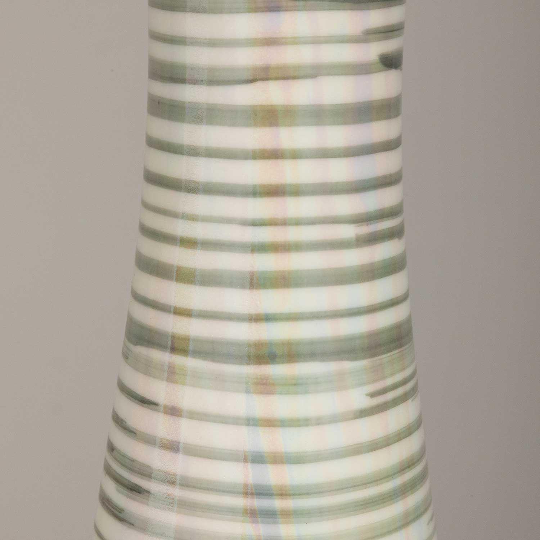 Picture of Grey White Stripe Vase