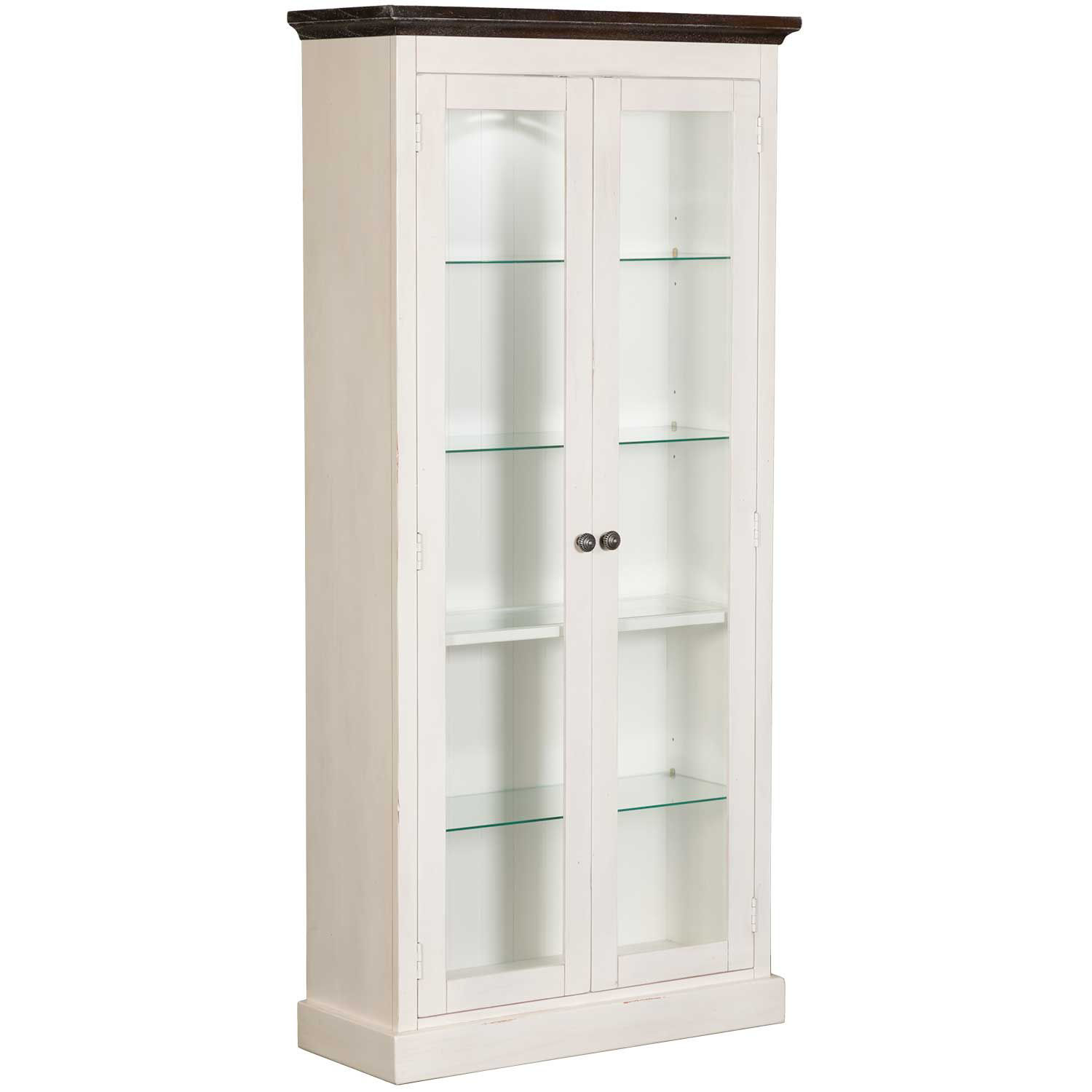 "Picture of Carriage House Curio Cabinet 76"" Tall"