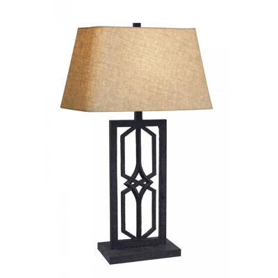 Picture of Rust Industrial Table Lamp