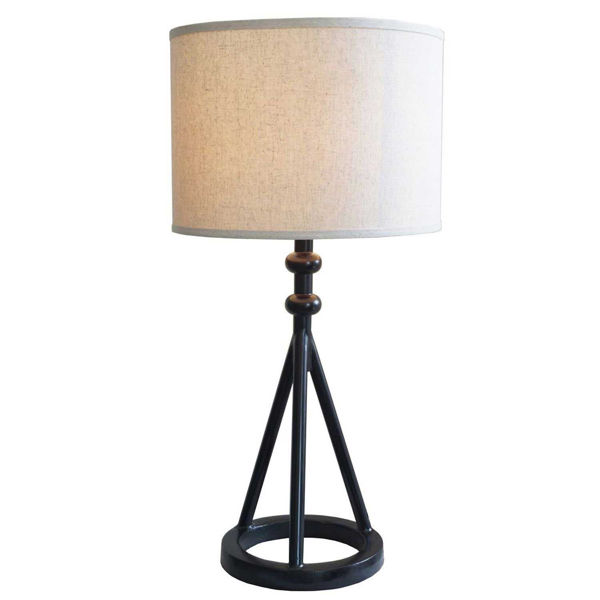 Picture of Black Iron Table Lamp