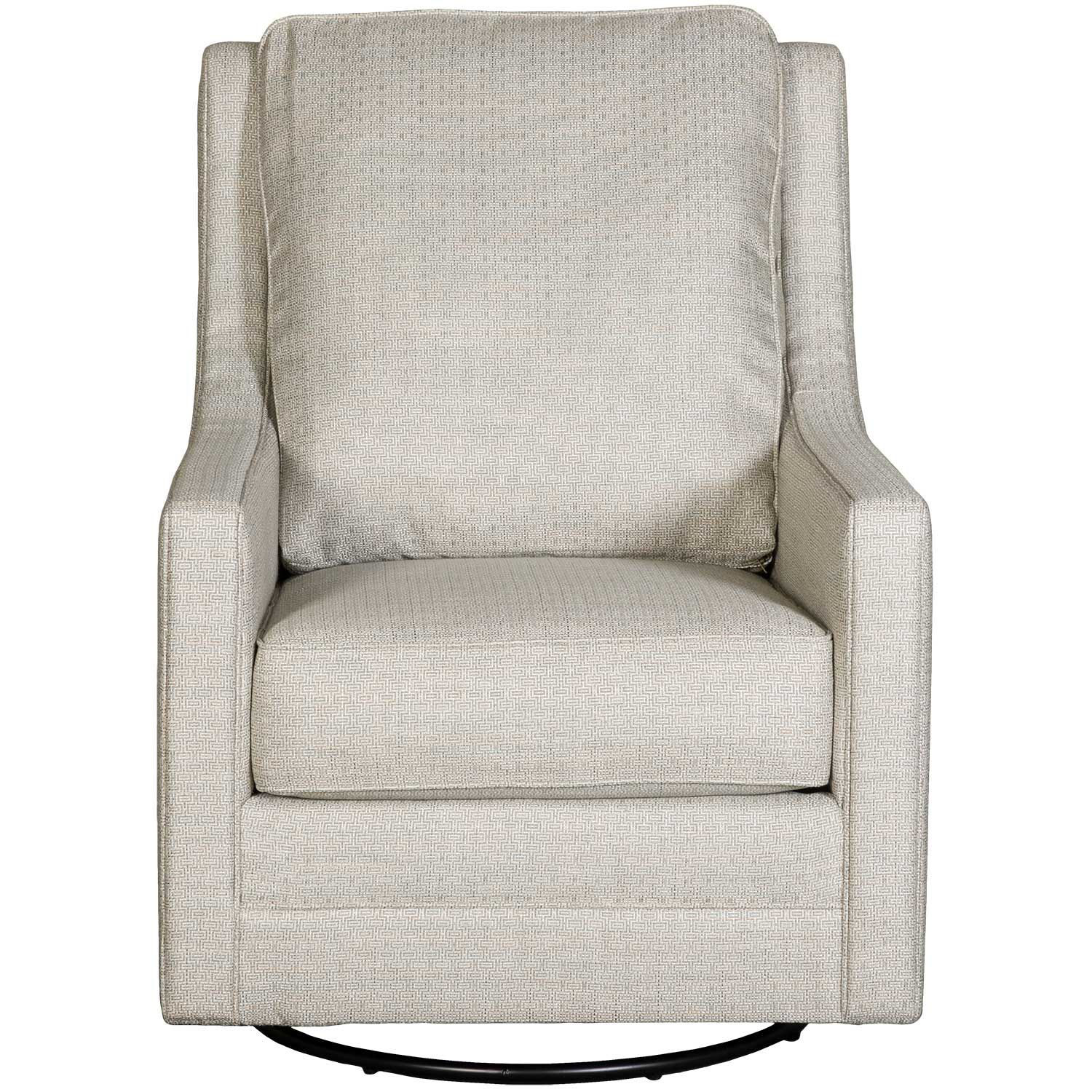 Picture of Claredon Linen Swivel Glider Chair