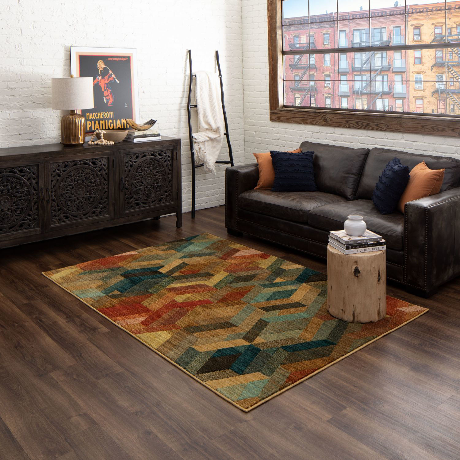 Picture of Ignite Multi Geo 5x8 Rug