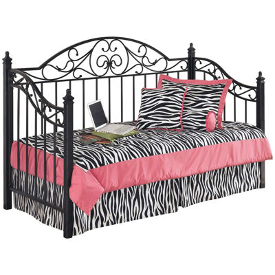 Picture of Black Metal Daybed with Link spring