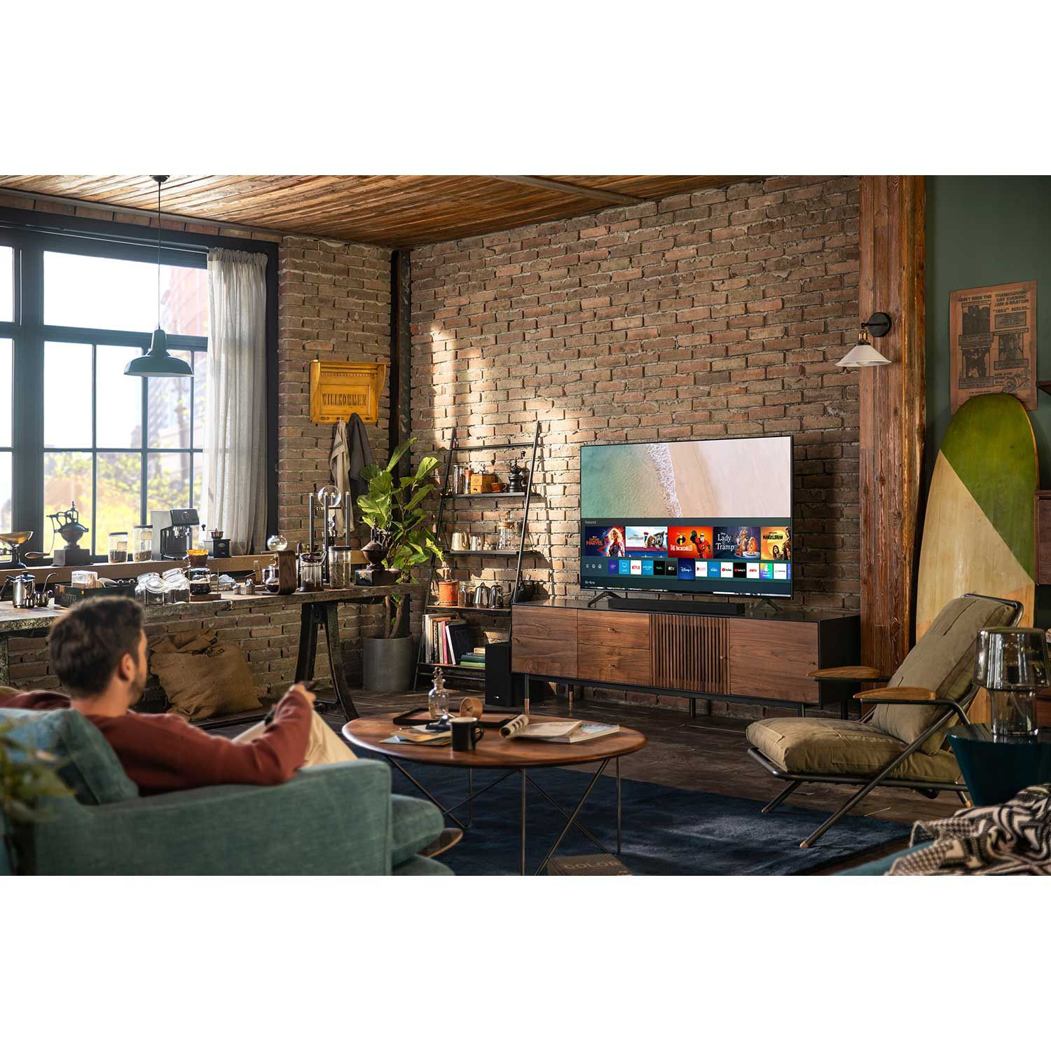 Picture of Samsung 43- Inch Class TU7000 UHD Smart TV With Alexa