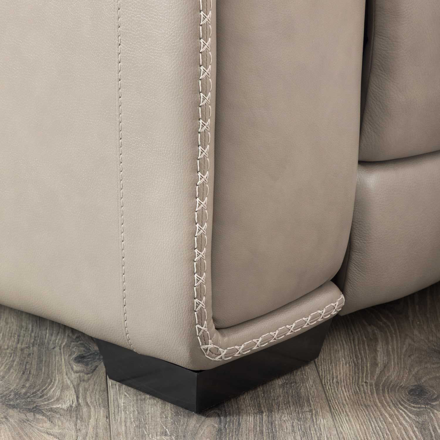 Picture of Correze Leather Power Recliner with Adjustable Hea