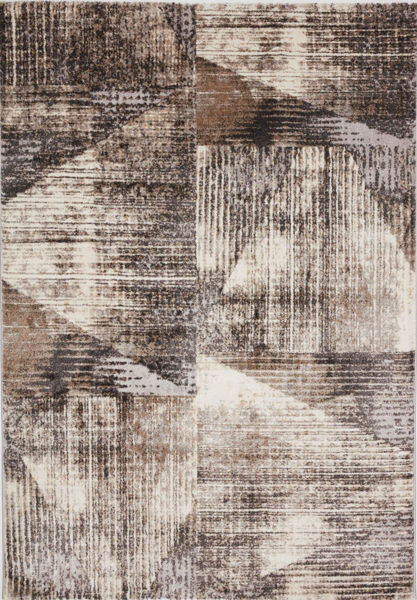Picture of Mink Grey Contemporary 5x8 Rug
