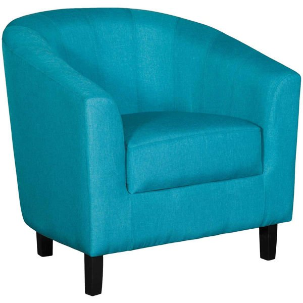 Picture of Duncan Teal Tub Chair