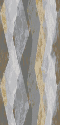 Picture of Allegheny Gray Layers 5X8 Rug