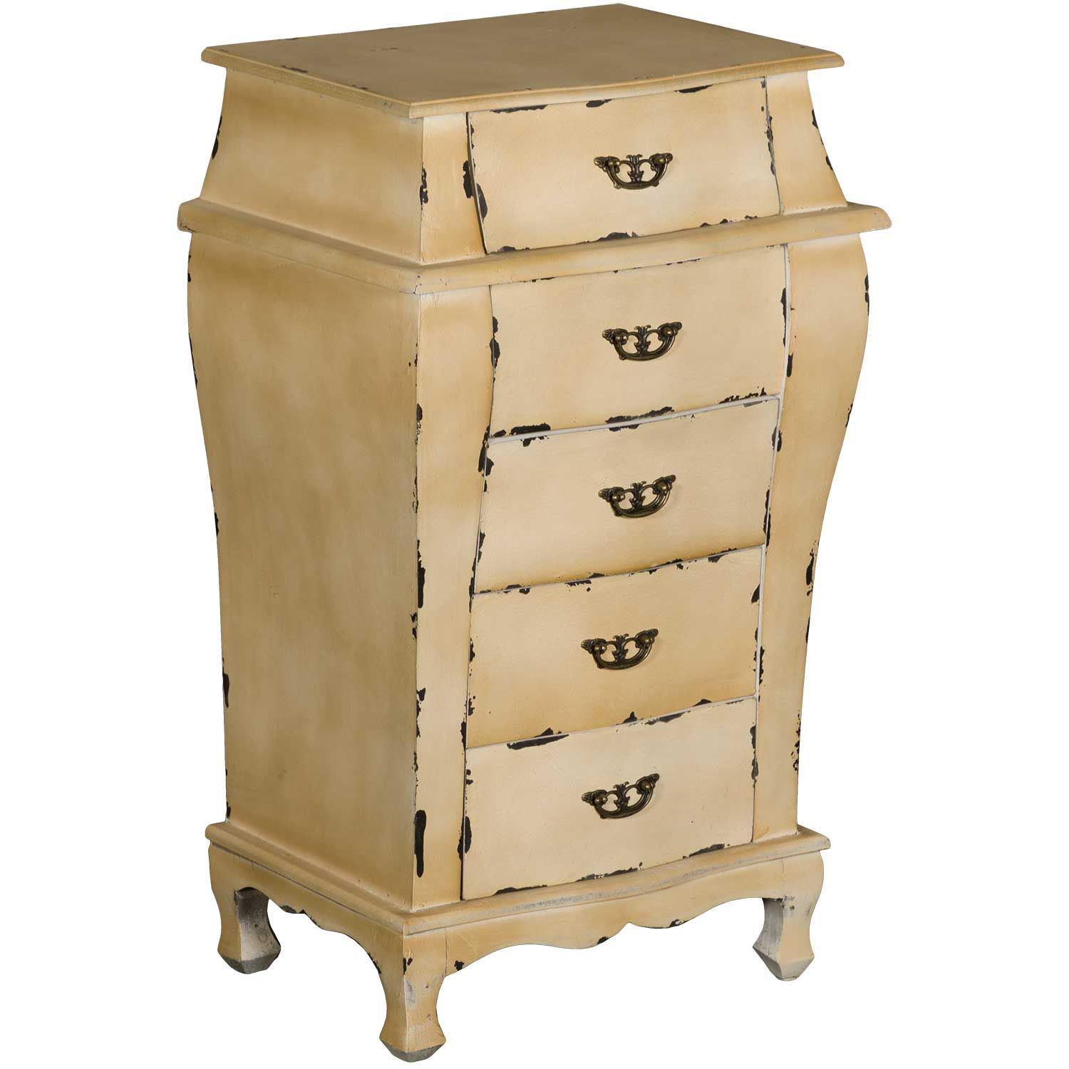 Picture of Celeste Antique Yellow Accent Chest