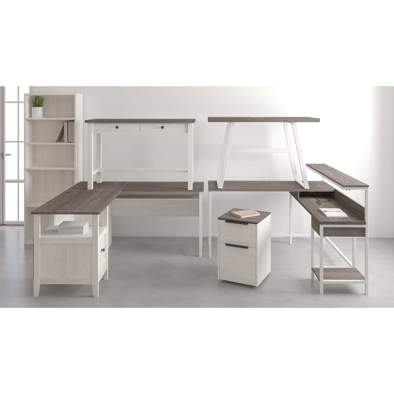Picture of L-Desk with Storage