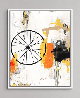 Picture of Grand Tour Giclee White Frame
