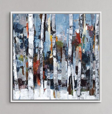 Picture of Nature's Tumble Giclee White Frame