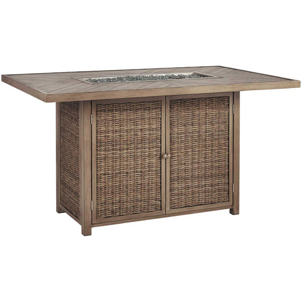 Picture of Beachcroft Counter Height Fire Pit Table