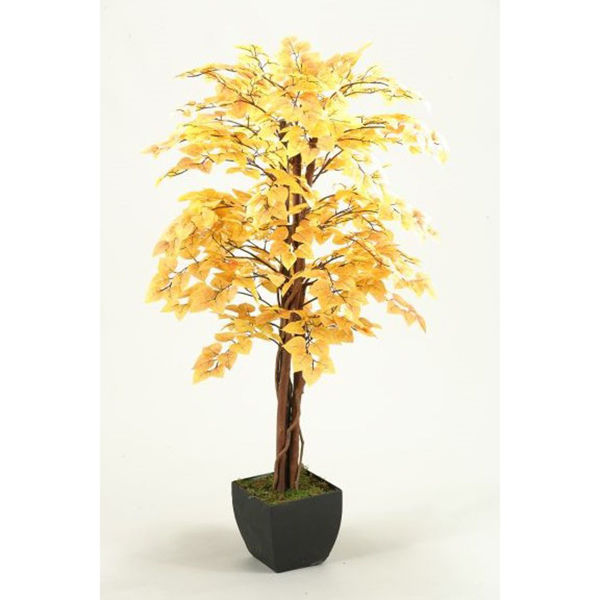 Picture of Fall Aspen Tree 48 Inch With Metal