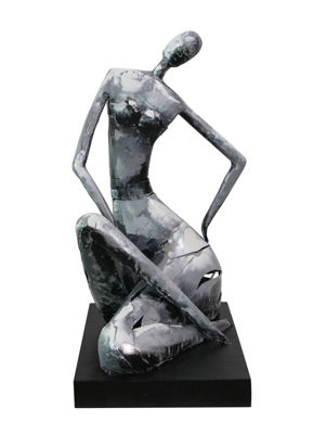 Picture of Metal Female Sculpture