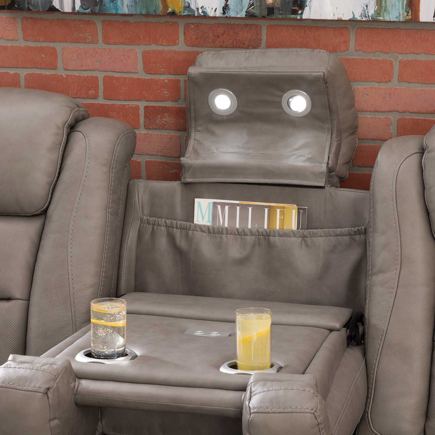 Picture of The Man-Den Power Reclining Sofa