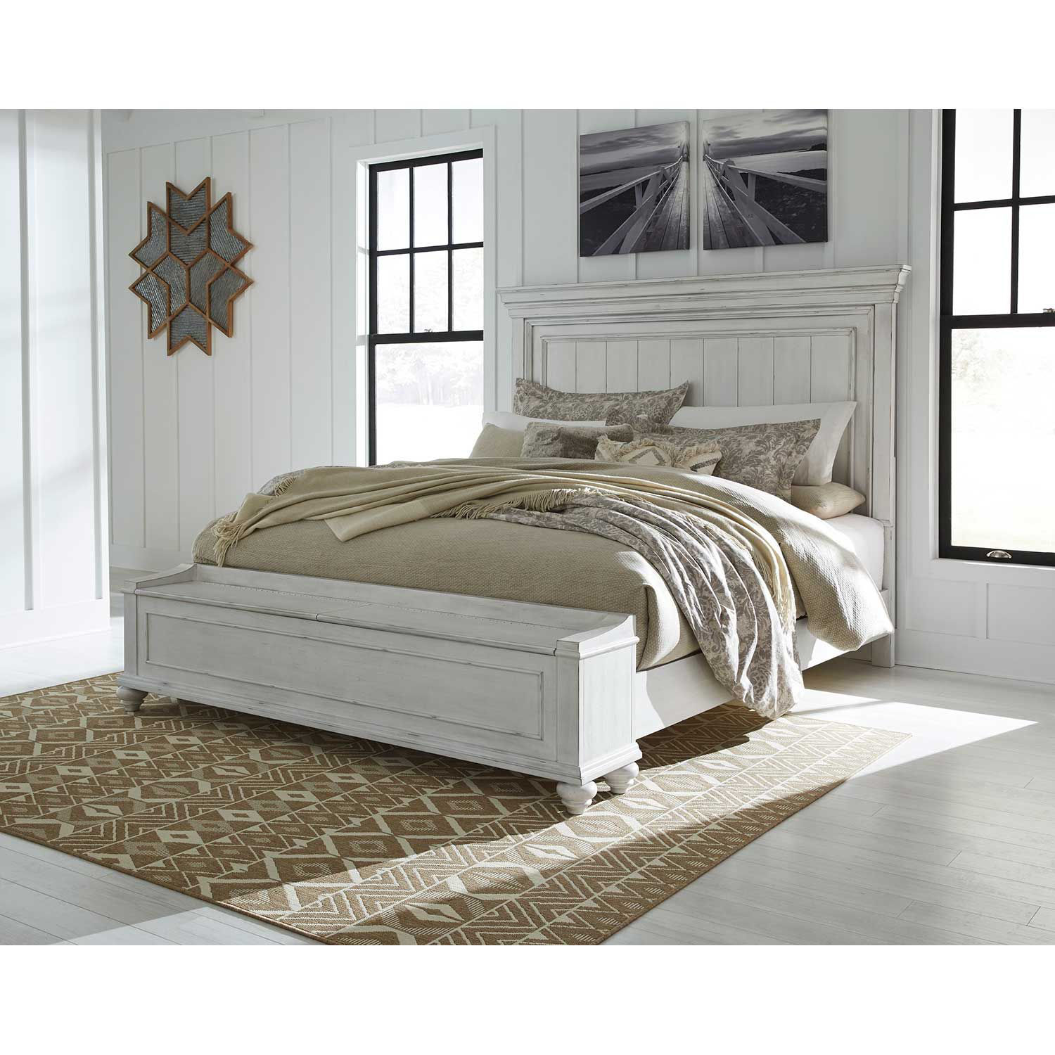 Picture of Kanwyn Queen Storage Bed