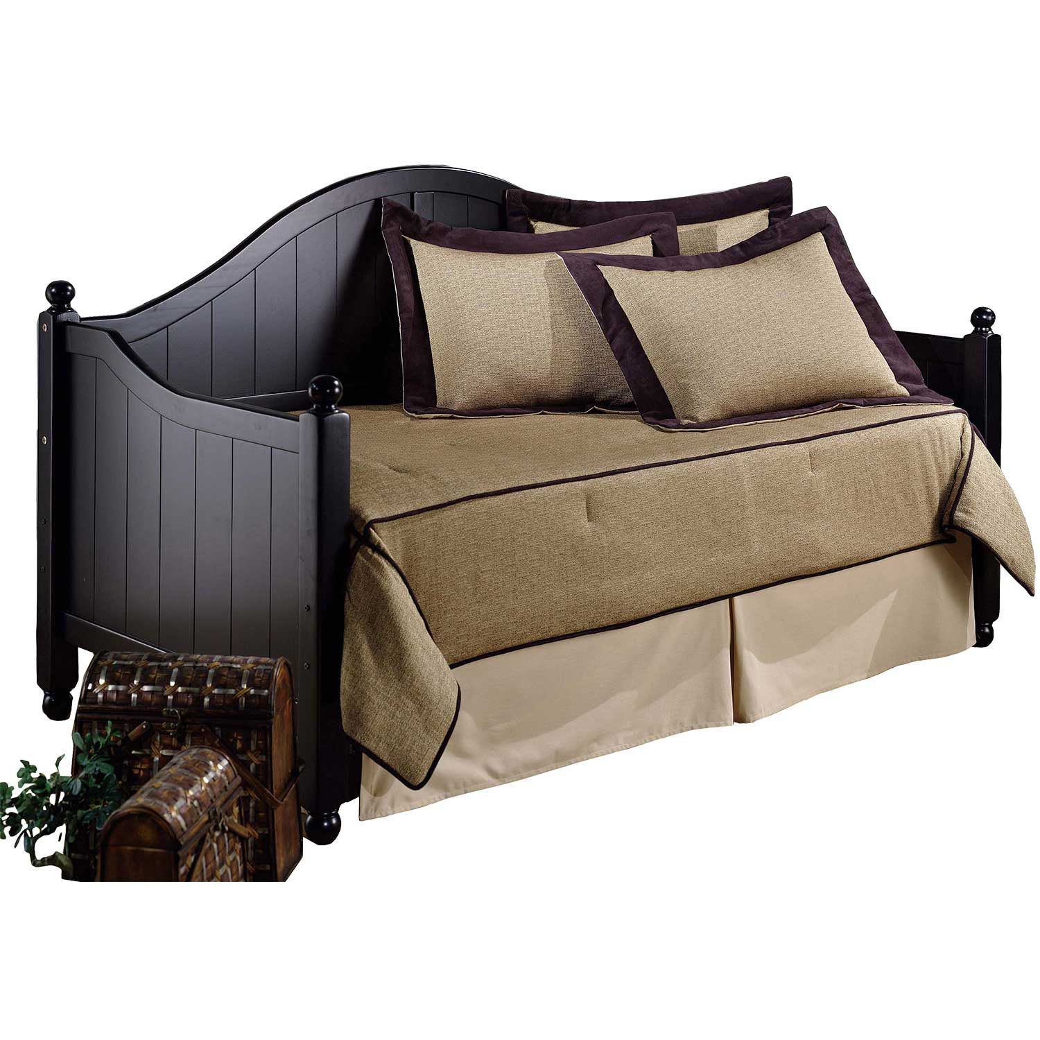 Picture of Daybed frame with linksprings (black)