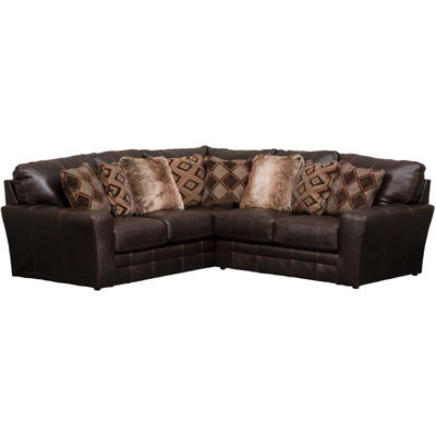 Picture of Denali 2PC Chocolate Sectional w/ RAF Love