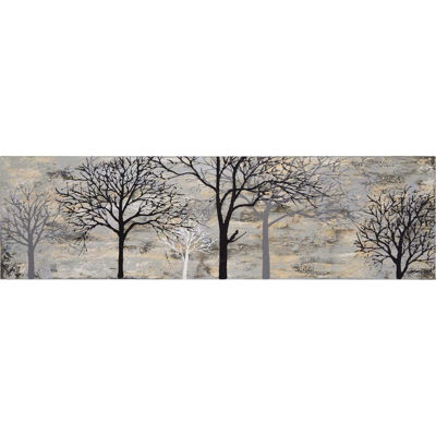 Picture of Hand Painted Trees on Canvas